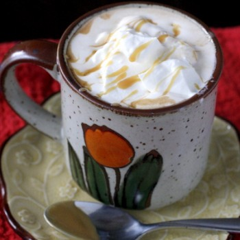 Dulce de Leche Hot Chocolate