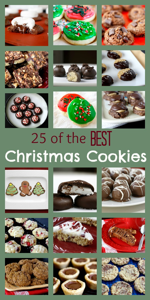 25 Best Christmas Cookies Ever