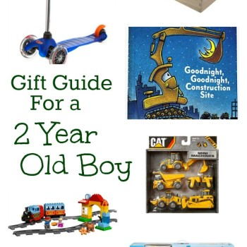 Christmas Gift Ideas for a Two Year Old Boy