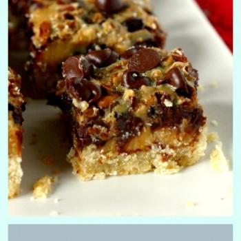 Dulce de Leche Cookie Bars