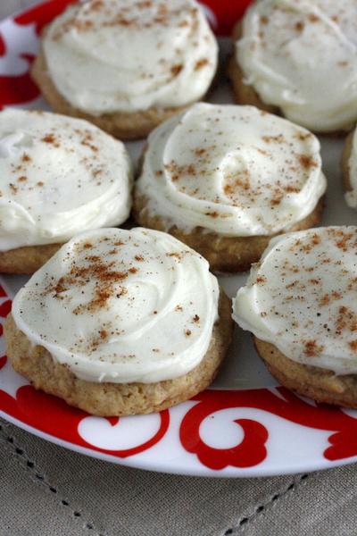 Soft Iced Eggnog Cookies What Megan S Making