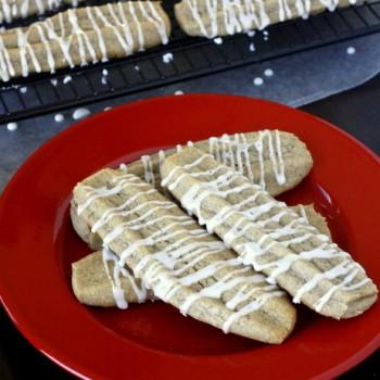 Cinnamon Cookie Sticks
