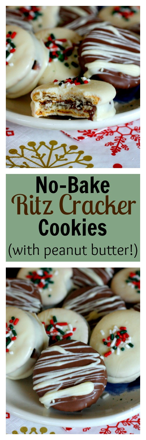 No-Bake Ritz Cracker Cookies