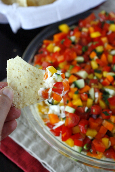 Loaded Veggie Dip