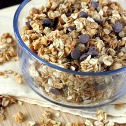 Peanut Butter Dark Chocolate Granola