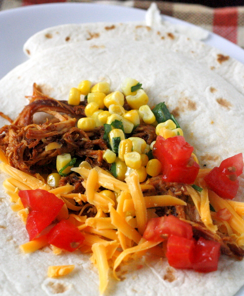 http://slowcookergourmet.net/slow-cooker-bbq-chicken-tacos/