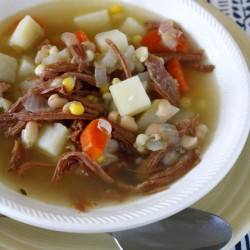 Leftover Ham Bone Soup