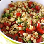 Marinated Vegetable Pasta Salad