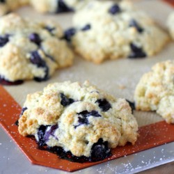 Fresh Blueberry Scones