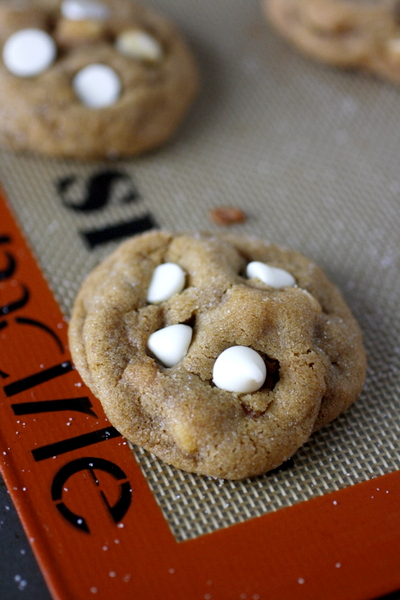Soft White Chocolate Gingerbread Cookies