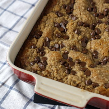 Pumpkin Chocolate Chip Crumb Cake