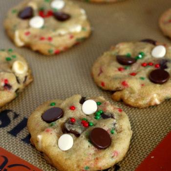 Chocolate Chip Christmas Cookies