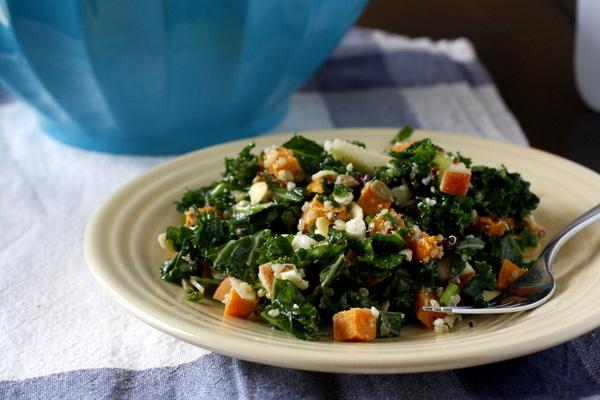 Loaded Kale Salad