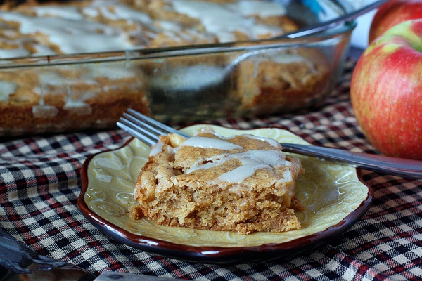 Brown Butter Apple Bars